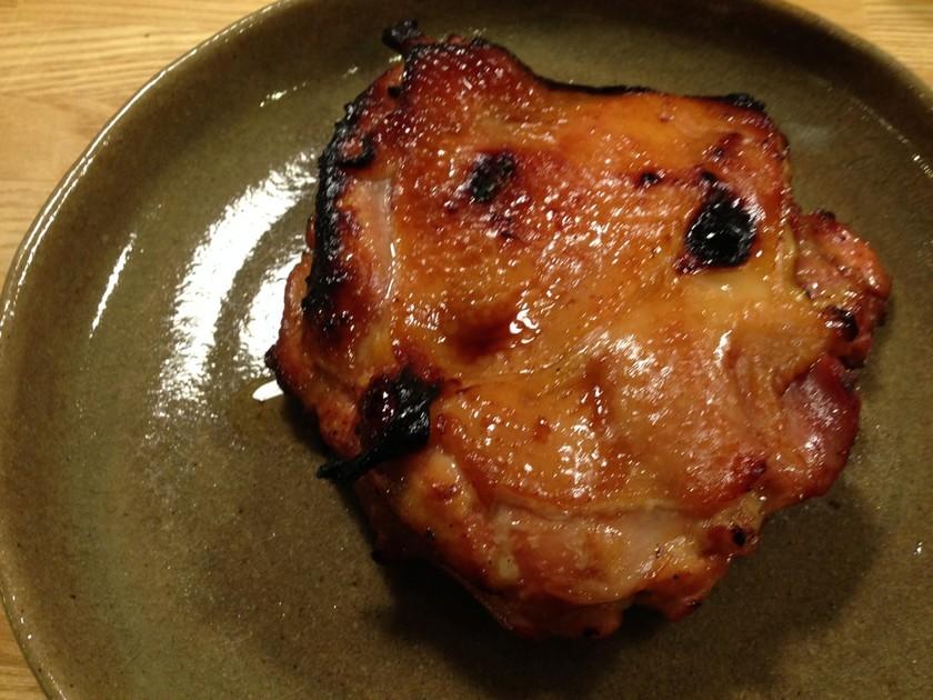 魚焼きグリルで簡単ローストチキン