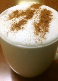 身体を温めるシナモンジンジャー豆乳
