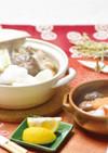 〈1月〉三種きのこの減塩みぞれ鍋柚子風味