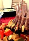 ラム肉のクラウン焼き~ハーブガーリック~