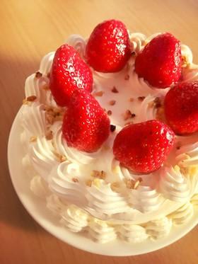 糖質制限◆おからパウダーでスポンジケーキ