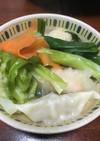 春キャベツ・九条ネギたっぷりの水餃子