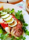 おもてなしに!タイの鯛ライム蒸し
