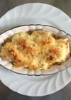 里芋と卵のほっこりグラタン