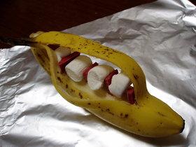 プリ☆彡おやつ BBQ限定 バナナボート