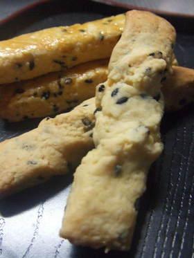 塩ごまクッキー