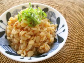 キムチ味★押し麦リゾット