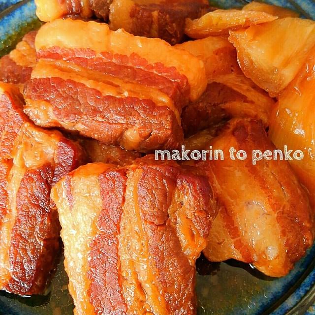 豚 の 角 煮 圧力 鍋 圧力鍋で豚の角煮がとろとろになる「ほったらかし調理法」