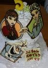 アナ雪ケーキ