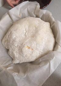 餅ケーキ (スイスロールとバニラアイス)