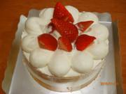簡単☆デコレーションケーキの写真