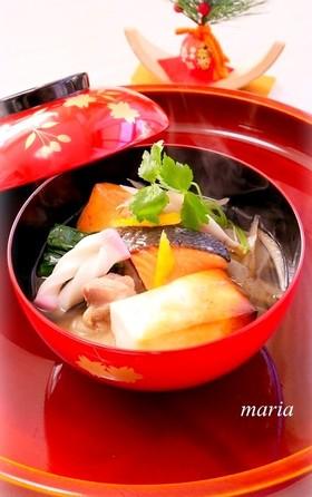 お雑煮*関東風