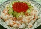 いくら好き❤の鮭親子寿司