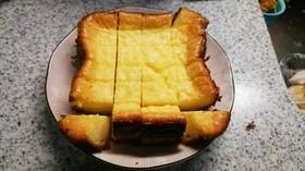生クリーム不使用のHBで濃厚チーズケーキ