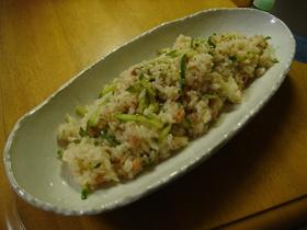 鮭フレークで簡単混ぜ寿司♪