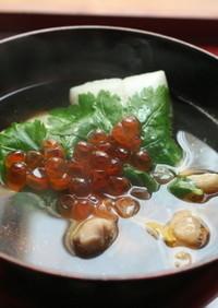 簡単☆でも料亭の味☆お正月にはこの雑煮