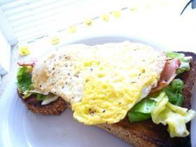 簡単♪朝のトースト