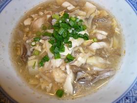 酸辣湯~スーラータン~(酸味の辛味スープ
