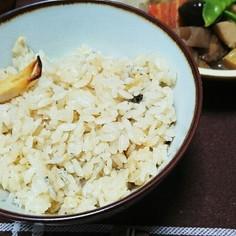 土鍋で梅昆布茶と塩鯖の炊き込みご飯