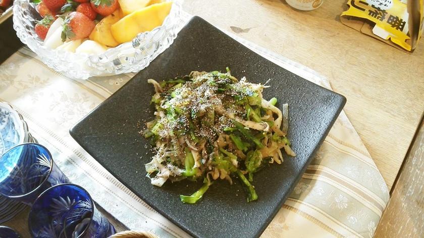 和美食 火を入れない小松菜の時短お浸し