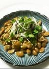納豆にブロッコリースプラウト、朝食に