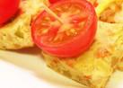 コンビーフハッシュの厚焼き卵
