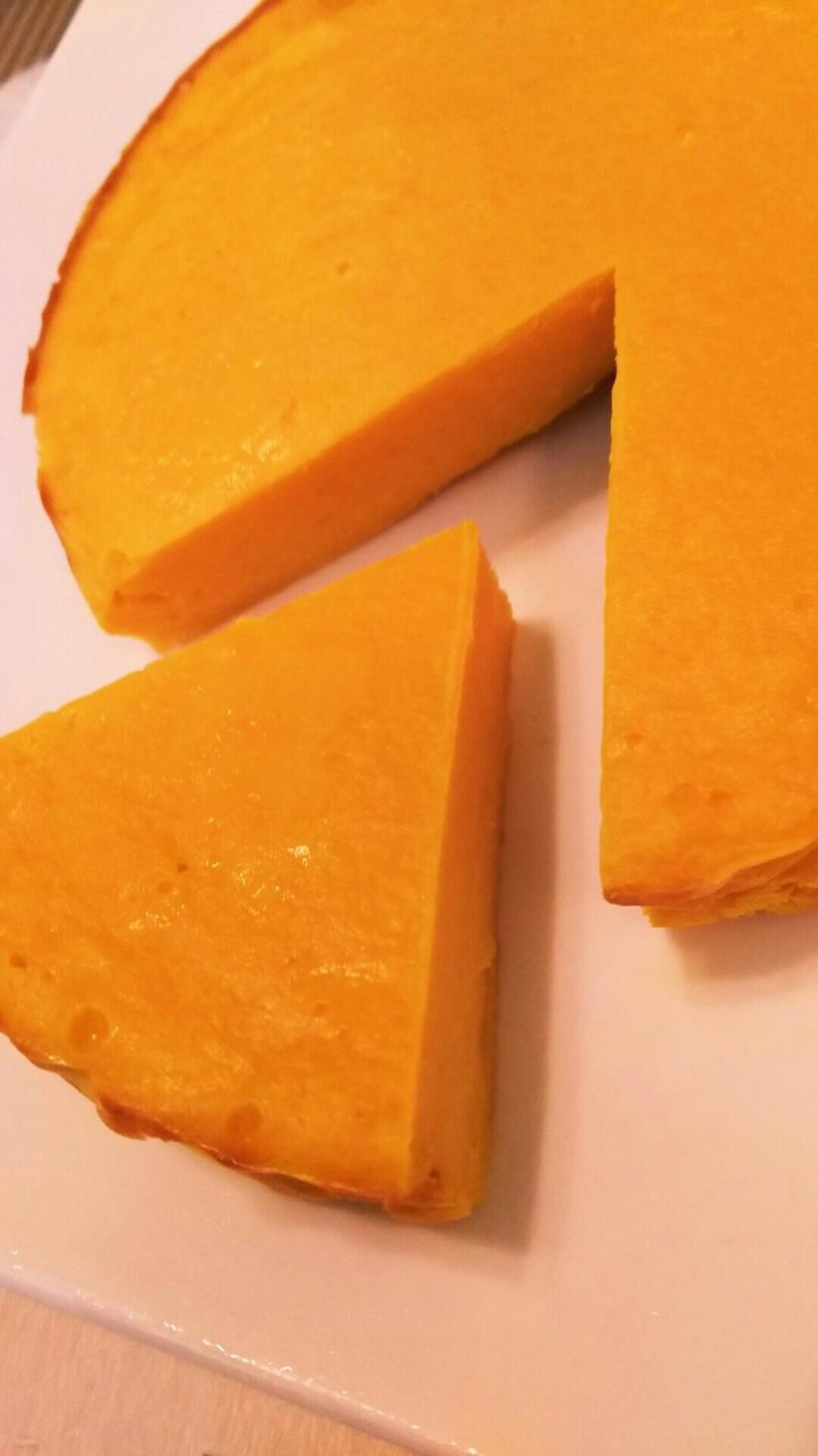やさしい味★簡単!かぼちゃ チーズケーキ