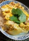 お雑煮つゆのリメイク「親子丼」