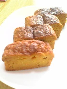 おいしいにんじんケーキ(^^)b