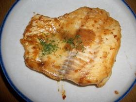 鱈の胡麻ドレ炒め