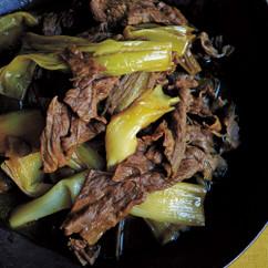 牛肉と長ねぎのカレー煮