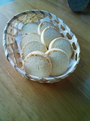 おからクッキー(プレーン)の写真