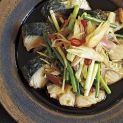焼きさばと香味野菜の南蛮漬け