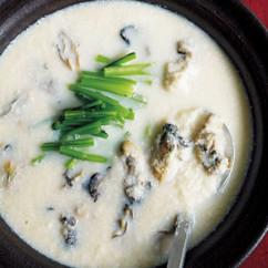おろしかぶとかきの豆乳鍋