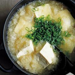 大根おろしと豆腐の鍋