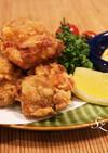 カリッとジューシーな鶏の唐揚げのコツ