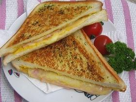 デラックス☆グリルドチーズサンドイッチ