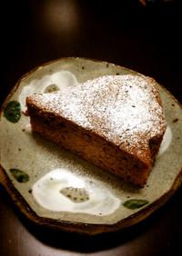 こどもと作る♡簡単チョコレートケーキ♡
