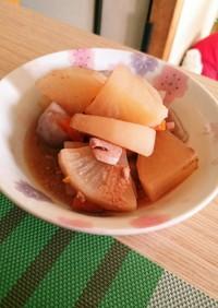 塩辛と大根の煮物☆