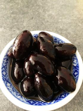 丹波の黒豆煮(豆サイズ3L、圧力鍋使用)