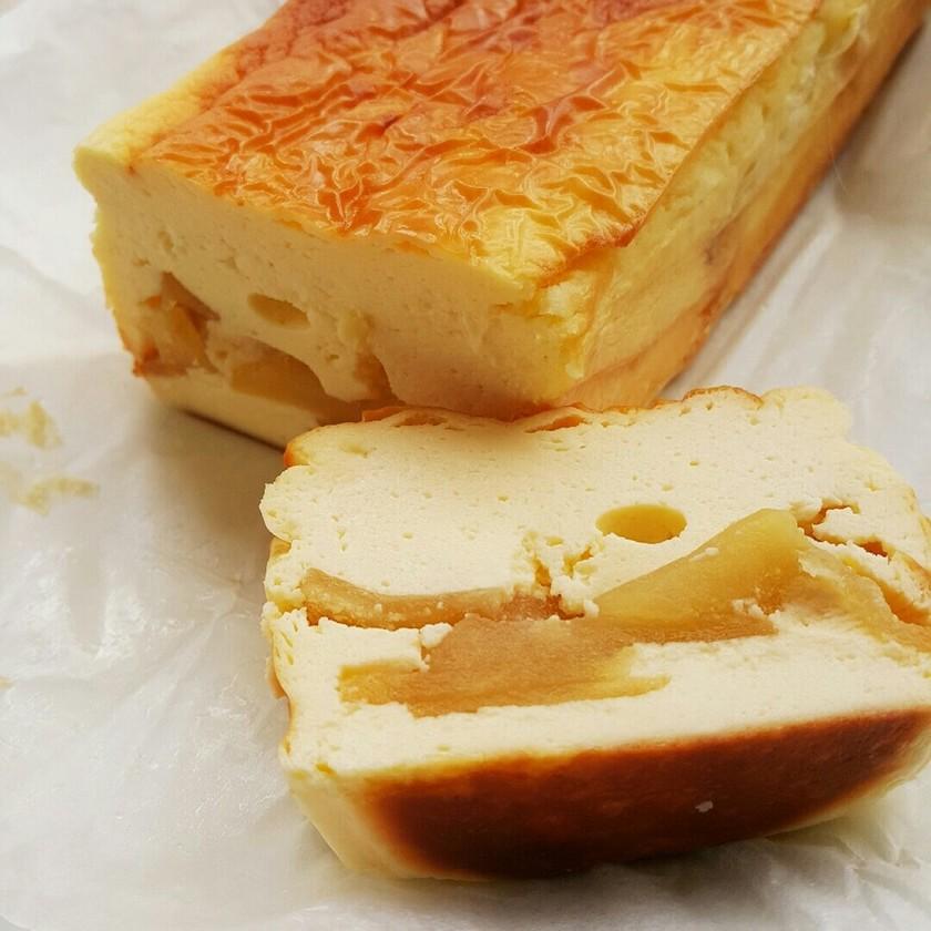 糖質制限☆アップルチーズケーキ