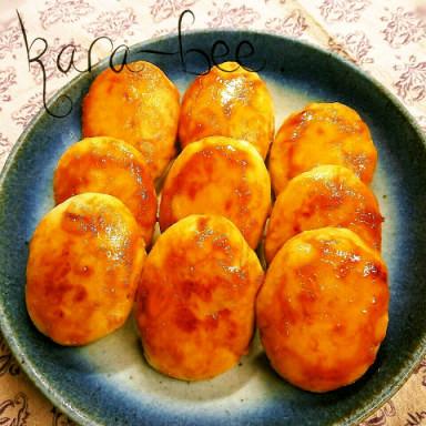 里芋でもちもち♡照り焼きツナチーズ芋もち