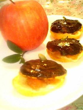 りんごとチョコがベストマッチのエクレア♪