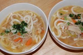 給食の味☆もやしの味噌スープ