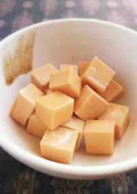 簡単おつまみ★チーズの醤油漬け