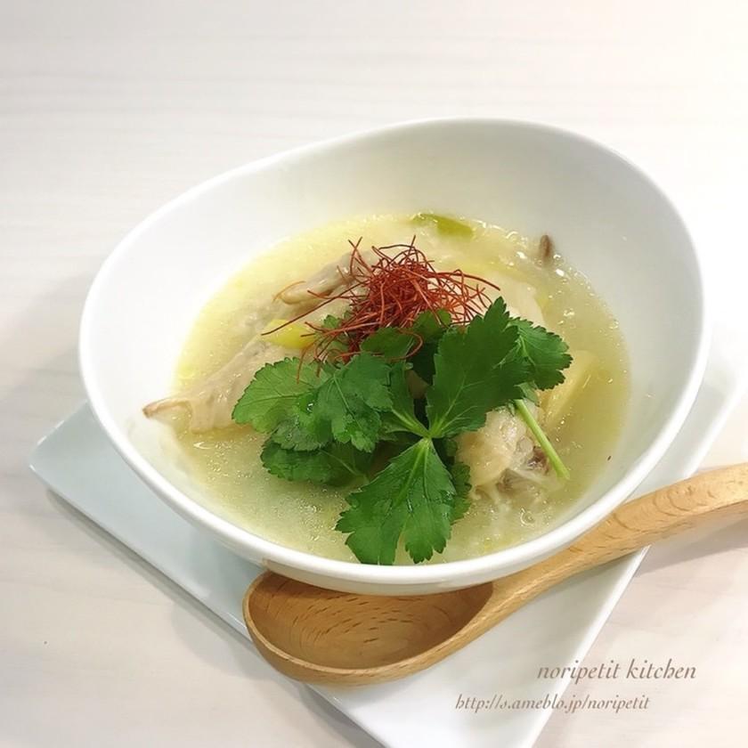 炊飯器de簡単♡美味しい参鶏湯♡