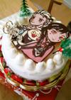 アナと雪の女王★キャラケーキ
