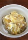 御節で残った栗きんとんとりんごとチーズ
