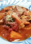 ★ひとり鍋diet第三弾★ハムのトマト鍋