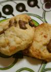 明治ミルクチョコでフルグラクッキー♪